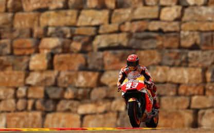 Aragon, dominio Honda: libere a Marquez e Pedrosa