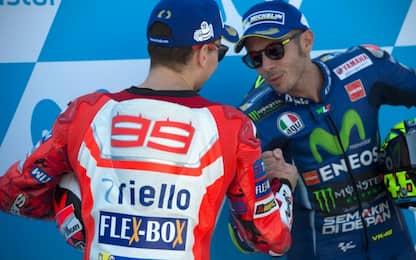 Rossi e Lorenzo, vincitori pur senza aver vinto