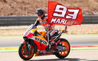 GP Aragon: vincono Marquez e... Valentino