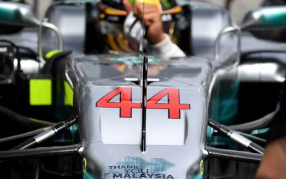 Pole a Hamilton, Raikkonen 2°. Vettel out nel Q1