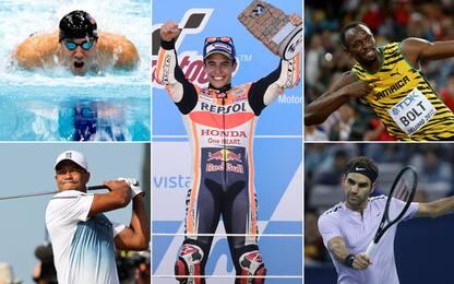 Marquez e gli altri fenomeni dello sport a 24 anni