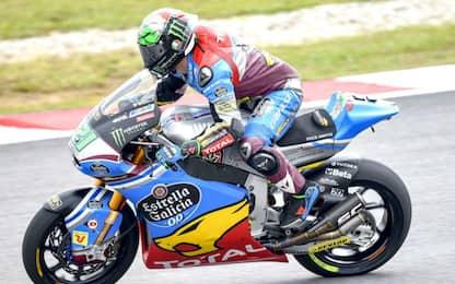 Moto2, GP Malesia: la pole è di Morbidelli