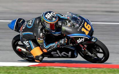 Moto3, Sepang: super rimonta di Migno, da 19° a 6°