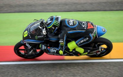 Moto3, Valencia: Bulega frattura al piede destro