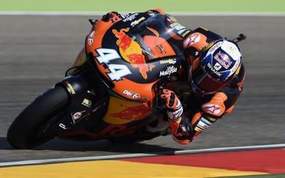 Moto2, Libere GP Valencia: Oliveira il più veloce