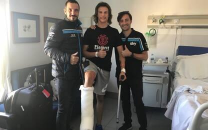 Moto3, Bulega operato con successo a Madrid