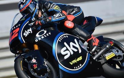Test Jerez, Sky-VR46 OK tra Moto2 e Moto3