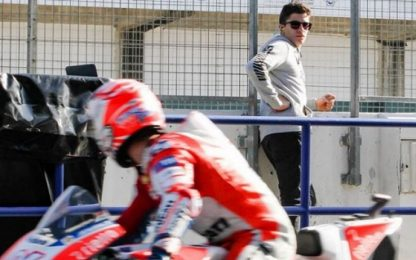 Test Jerez, Day 2: Dovi vola, Marquez osserva...