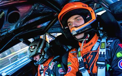 Luca Marini rallysta d'eccezione a Monza