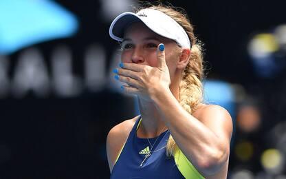 Aus Open, Wozniacki ai quarti con Suarez Navarro