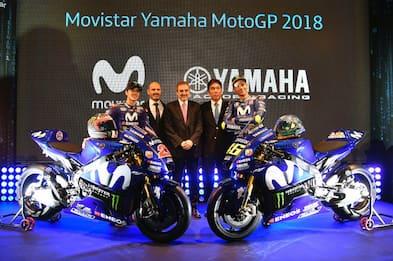 La Yamaha accelera: Vinales rinnova, Rossi quasi