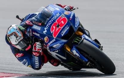 Test Sepang, dominio Yamaha: 1° Vinales, 2° Rossi