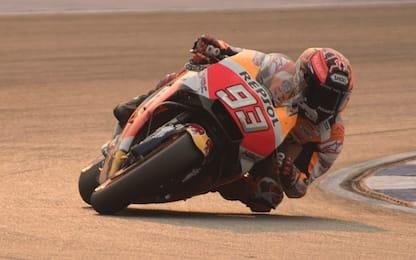 Test Thailandia, Marquez si regala il primo posto