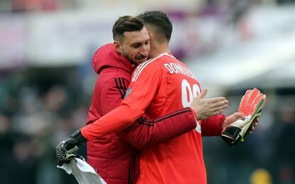 Milan-Ludogorets, Gigio lascia il posto ad Antonio