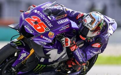 Test Qatar: comanda Vinales, Rossi chiude sesto