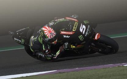 GP Qatar: pole di Zarco, 2° Marquez, 3° Petrucci