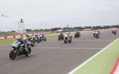 GP Argentina, la griglia di partenza
