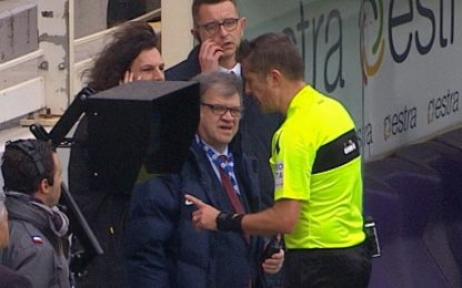 """Rigore contro, Fiesole all'arbitro: """"Insensibile"""""""
