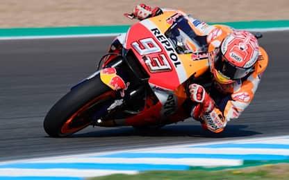 Jerez, warm up: 1° Marquez, 2° Iannone, 3° Pedrosa