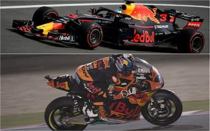 Red Bull in F1 e Ktm in MotoGP, storie parallele