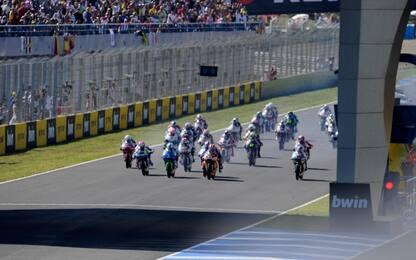 MotoGP, la griglia di partenza del GP di Spagna