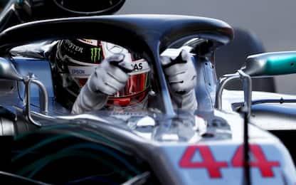 Hamilton vince in Spagna. Vettel 4°, Raikkonen out