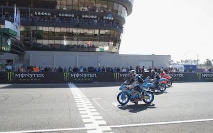 GP Francia, la griglia di partenza della MotoGP