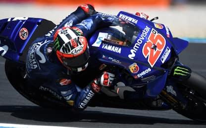 Le Mans, FP3: 1° Vinales, 2° Marquez, 3° Rossi