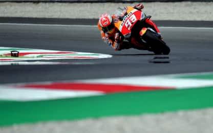 Mugello, FP3: 1° Marquez davanti a Iannone e Rossi