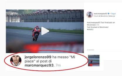 Lorenzo-Marquez, l'intesa è nata sui social?