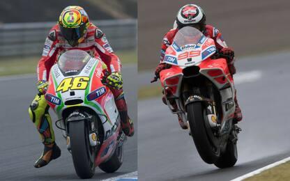Rossi e Lorenzo: perchè via da Ducati?