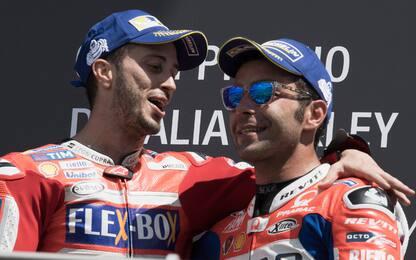 Petrucci compagno di Dovizioso in Ducati dal 2019