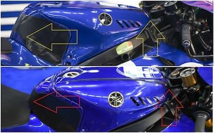 Test Montmeló, 1° Marquez. Yamaha, nuovo serbatoio