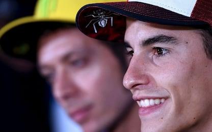 """Marquez: """"Rossi a 39 anni fa cose irripetibili"""""""