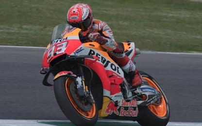 GP Olanda, Libere 3: Marquez in testa, 4° Rossi