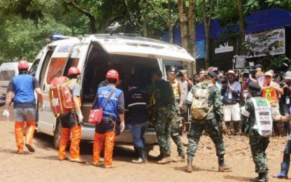 Thailandia, salvi i 12 giovani calciatori dispersi