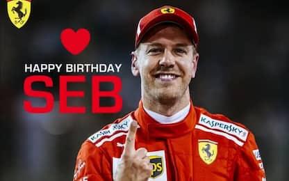Buon compleanno, Vettel: 31 anni da leader