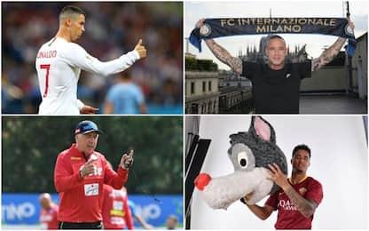 """Con Ronaldo torna una Serie A """"Grandi Firme"""""""