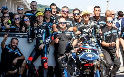 """Moto2, Marini e Bagnaia: """"Un'altra prima fila!"""""""