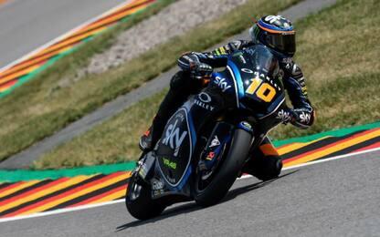 Moto2, Sachsenring: Marini-Bagnaia, super 1° fila