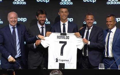 """La conferenza di Ronaldo: """"Juve, scelta facile"""""""