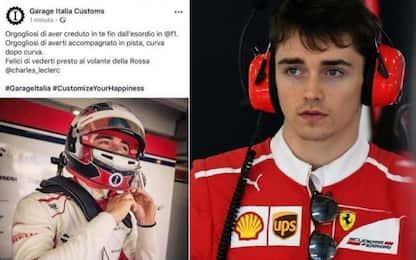 Leclerc-Ferrari, sui social Lapo anticipa tutti