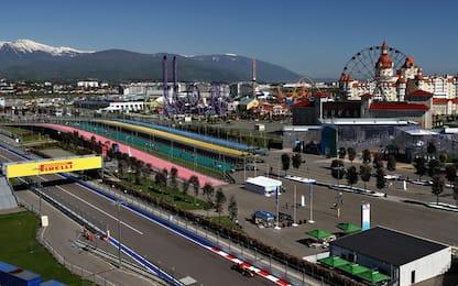 Formula 1, gli orari del GP di Russia in tv