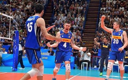 Final Six, Italvolley con Polonia e Serbia