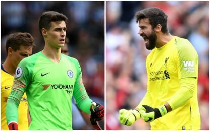 Chelsea-Liverpool, è sfida tra Kepa e Alisson