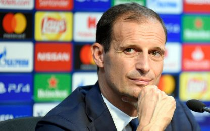 Juve-Young Boys, la conferenza di Allegri LIVE