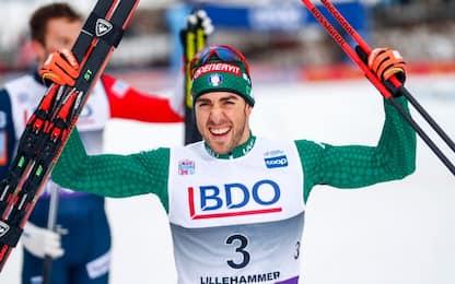 Sci di fondo, Pellegrino trionfa a Lillehammer