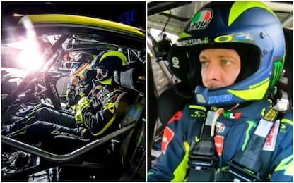 In macchina con Vale: ecco come guida Rossi VIDEO