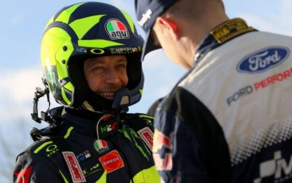 Rally Monza, trionfa Rossi: 7° titolo in carriera