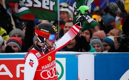 Hirscher domina a Saalbach, vittoria numero 63